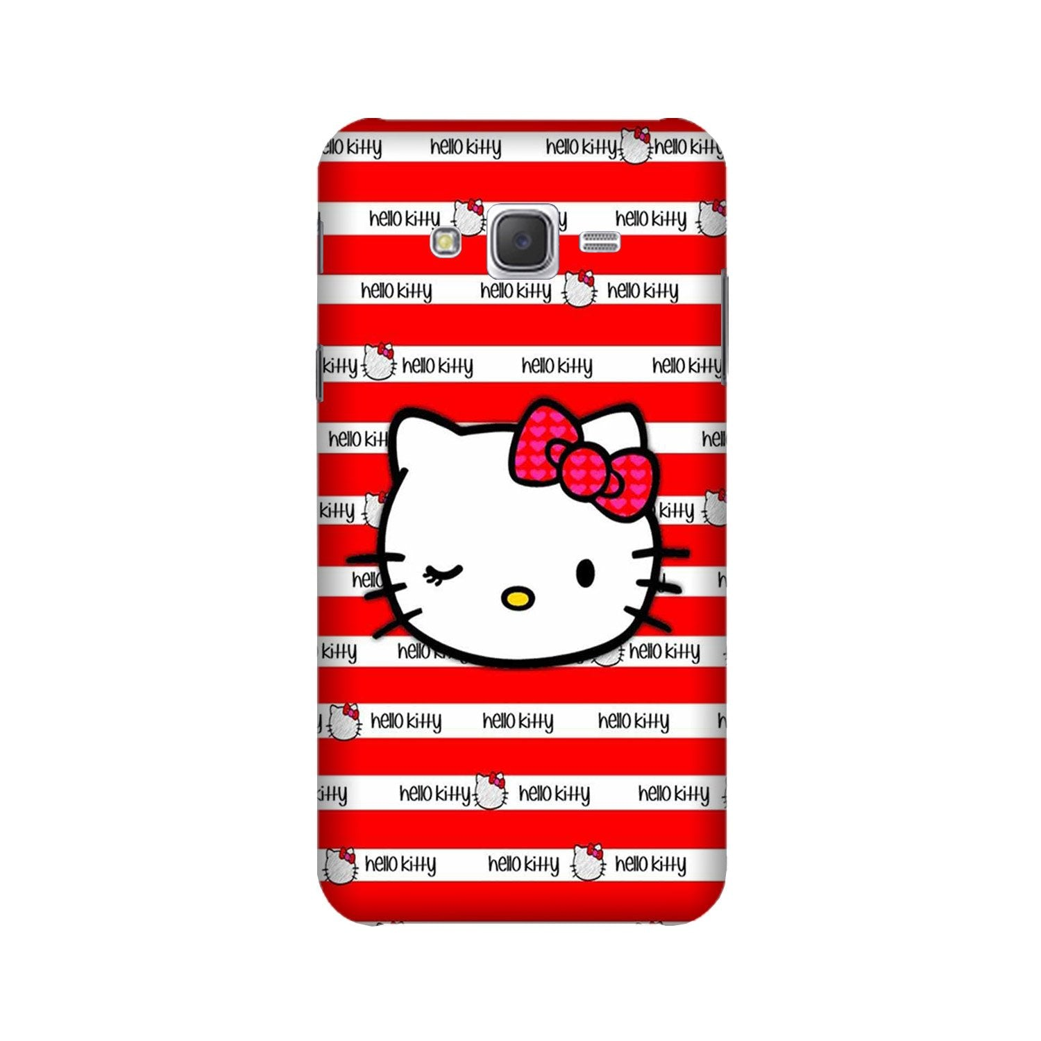 Hello Kitty Mobile Back Case for Galaxy A3 (2015) (Design - 364)