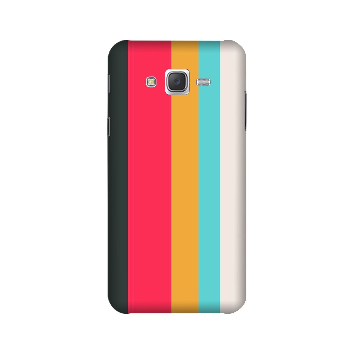 Color Pattern Mobile Back Case for Galaxy A3 (2015) (Design - 369)