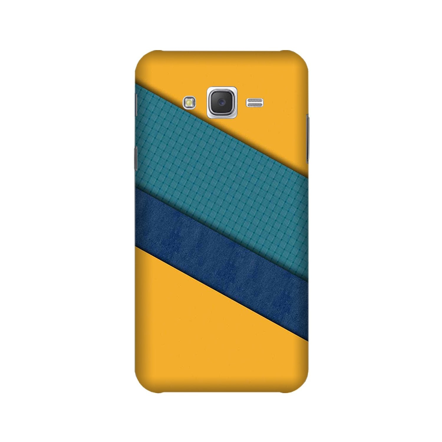Diagonal Pattern Mobile Back Case for Galaxy A3 (2015) (Design - 370)