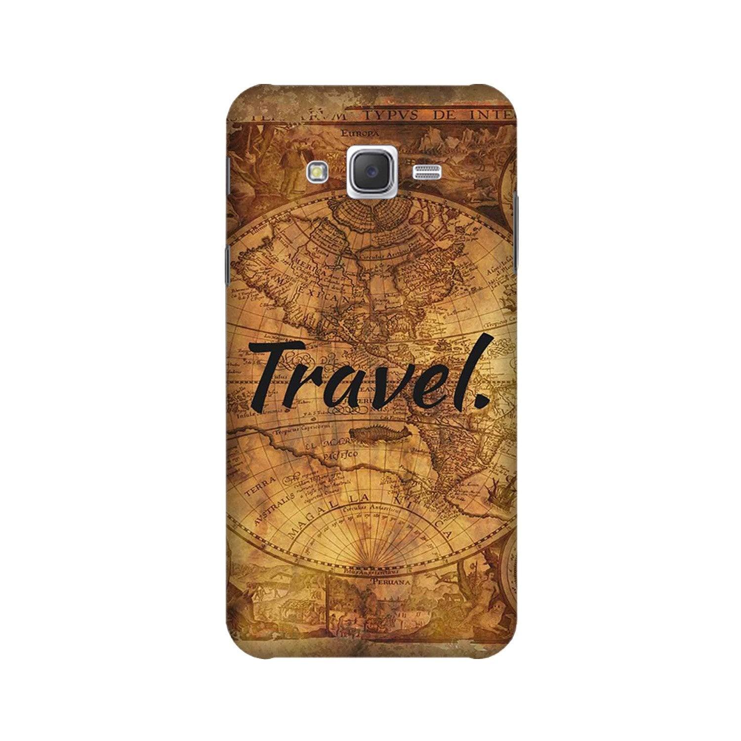 Travel Mobile Back Case for Galaxy A3 (2015) (Design - 375)