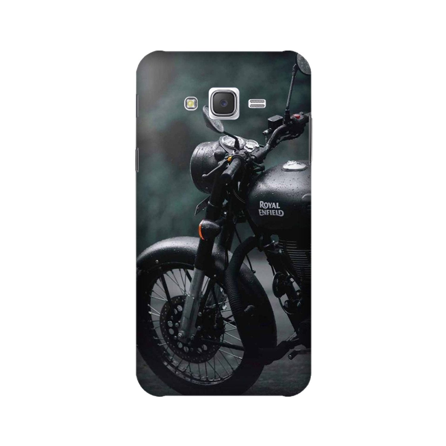Royal Enfield Mobile Back Case for Galaxy A3 (2015) (Design - 380)