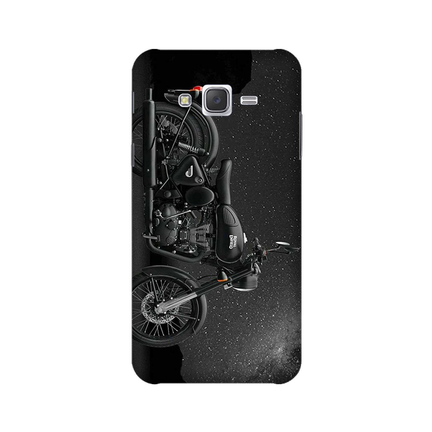 Royal Enfield Mobile Back Case for Galaxy A3 (2015) (Design - 381)