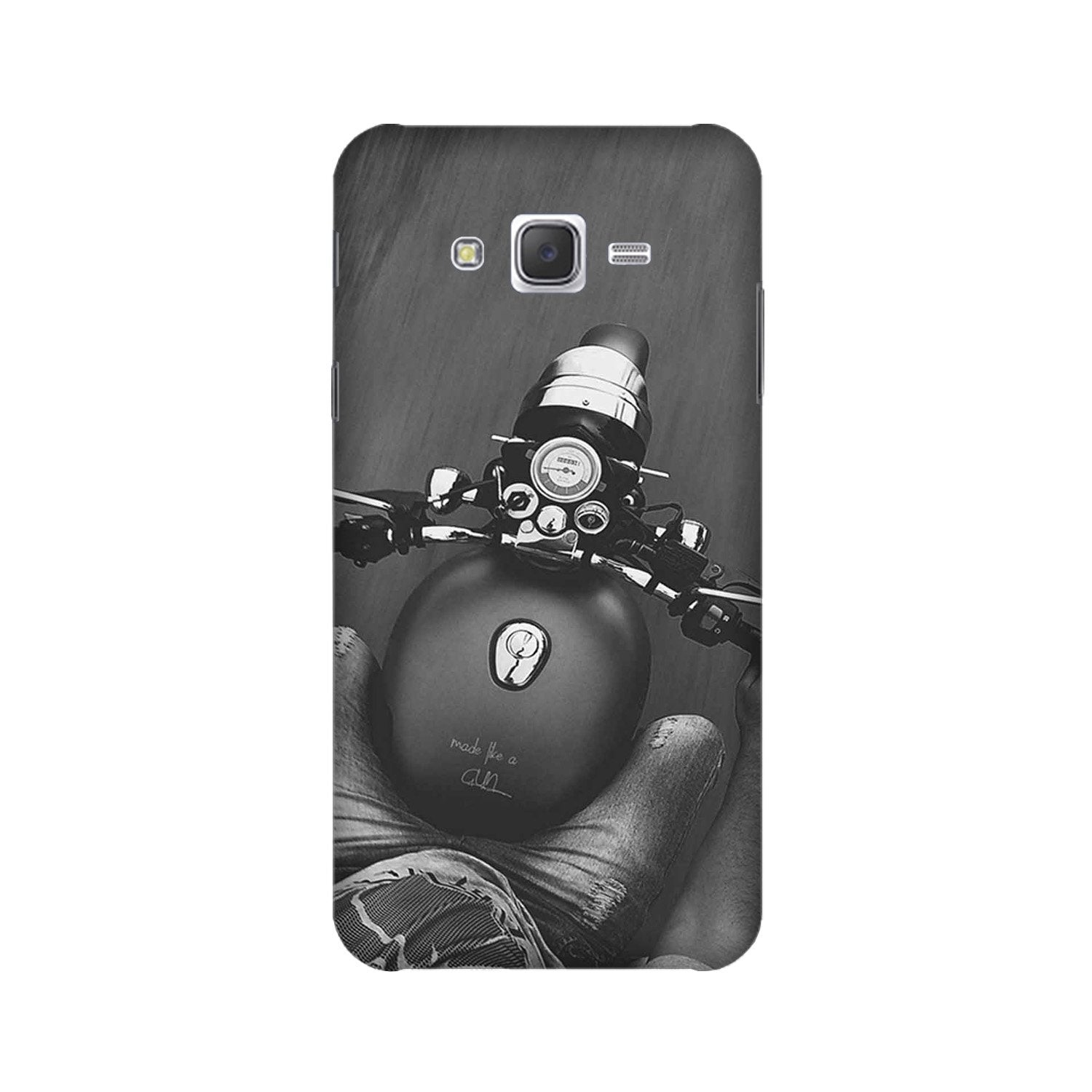 Royal Enfield Mobile Back Case for Galaxy A3 (2015) (Design - 382)