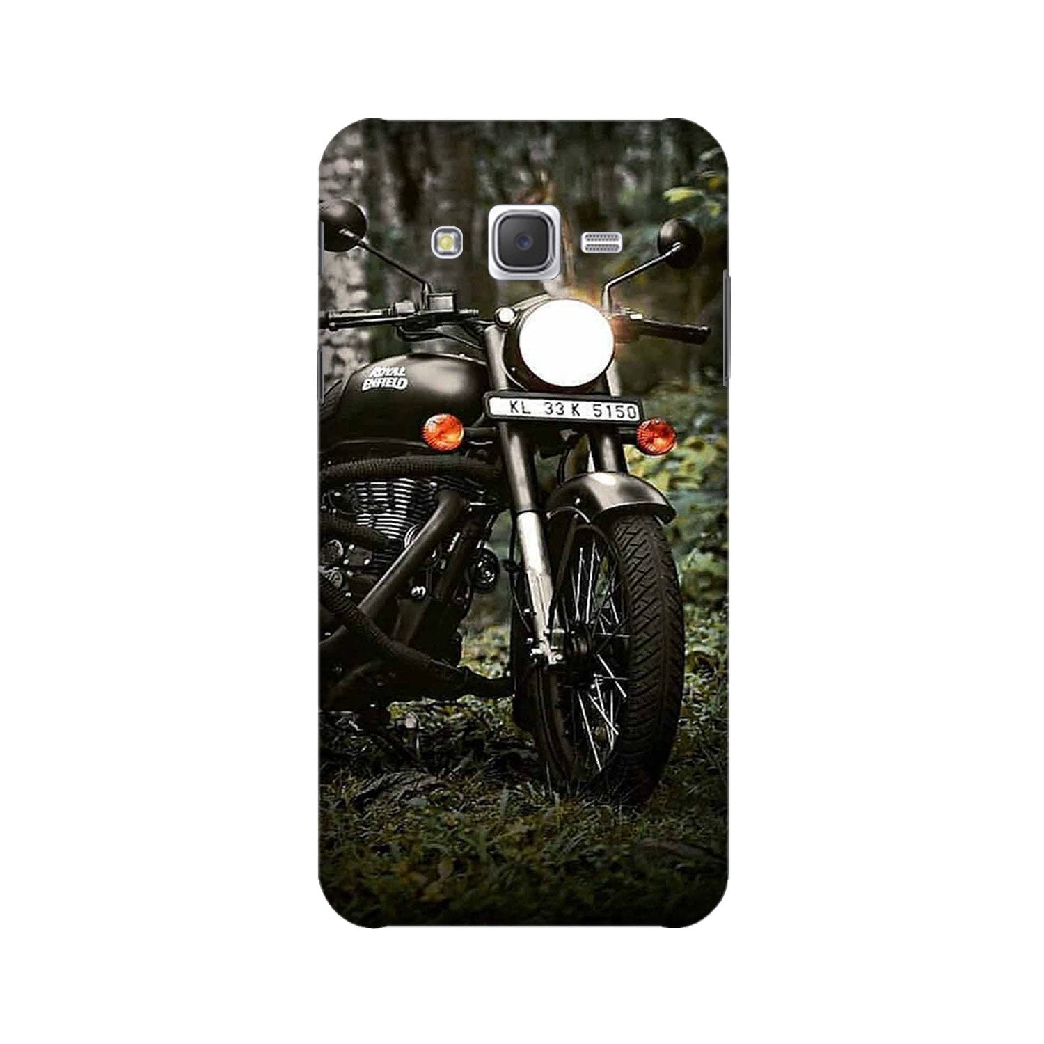 Royal Enfield Mobile Back Case for Galaxy A3 (2015) (Design - 384)