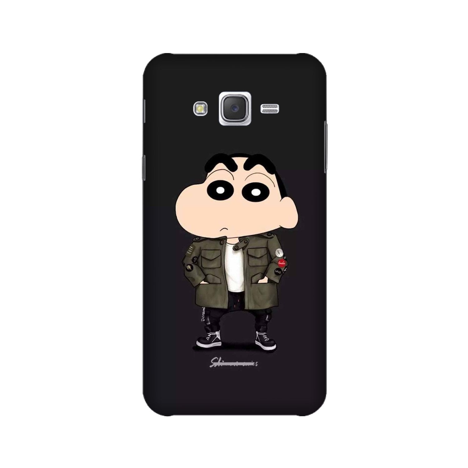 Shin Chan Mobile Back Case for Galaxy A3 (2015) (Design - 391)