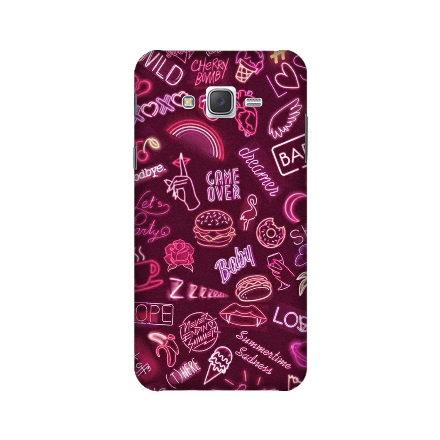 Party Theme Mobile Back Case for Galaxy A3 (2015) (Design - 392)