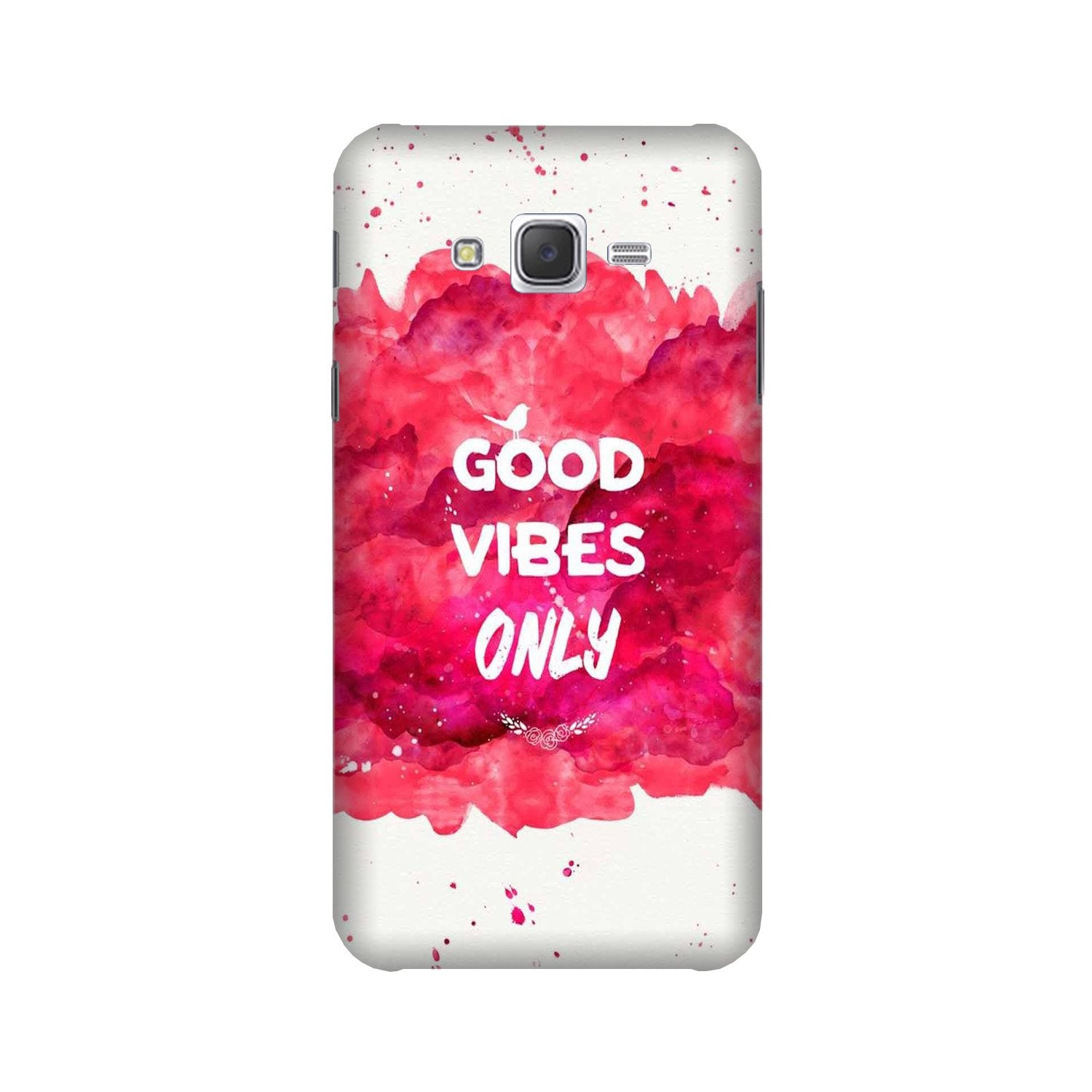 Good Vibes Only Mobile Back Case for Galaxy A3 (2015) (Design - 393)