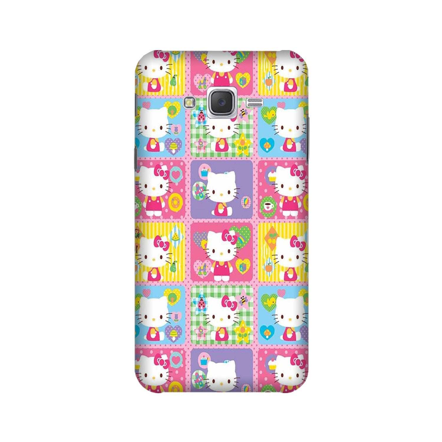 Kitty Mobile Back Case for Galaxy A3 (2015) (Design - 400)