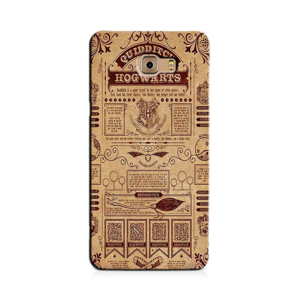 Hogwarts Mobile Back Case for Galaxy J7 Prime   (Design - 304)