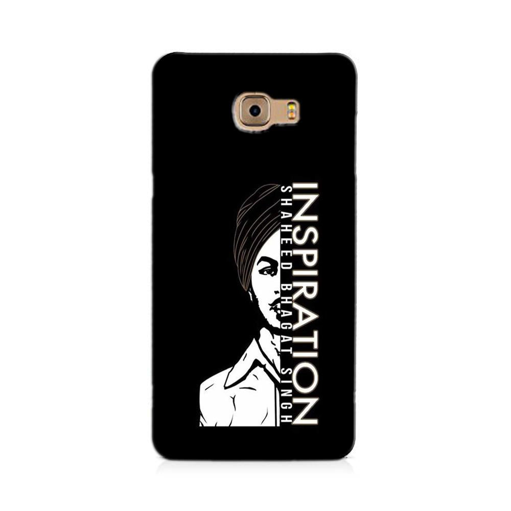 Bhagat Singh Mobile Back Case for Galaxy J7 Prime   (Design - 329)