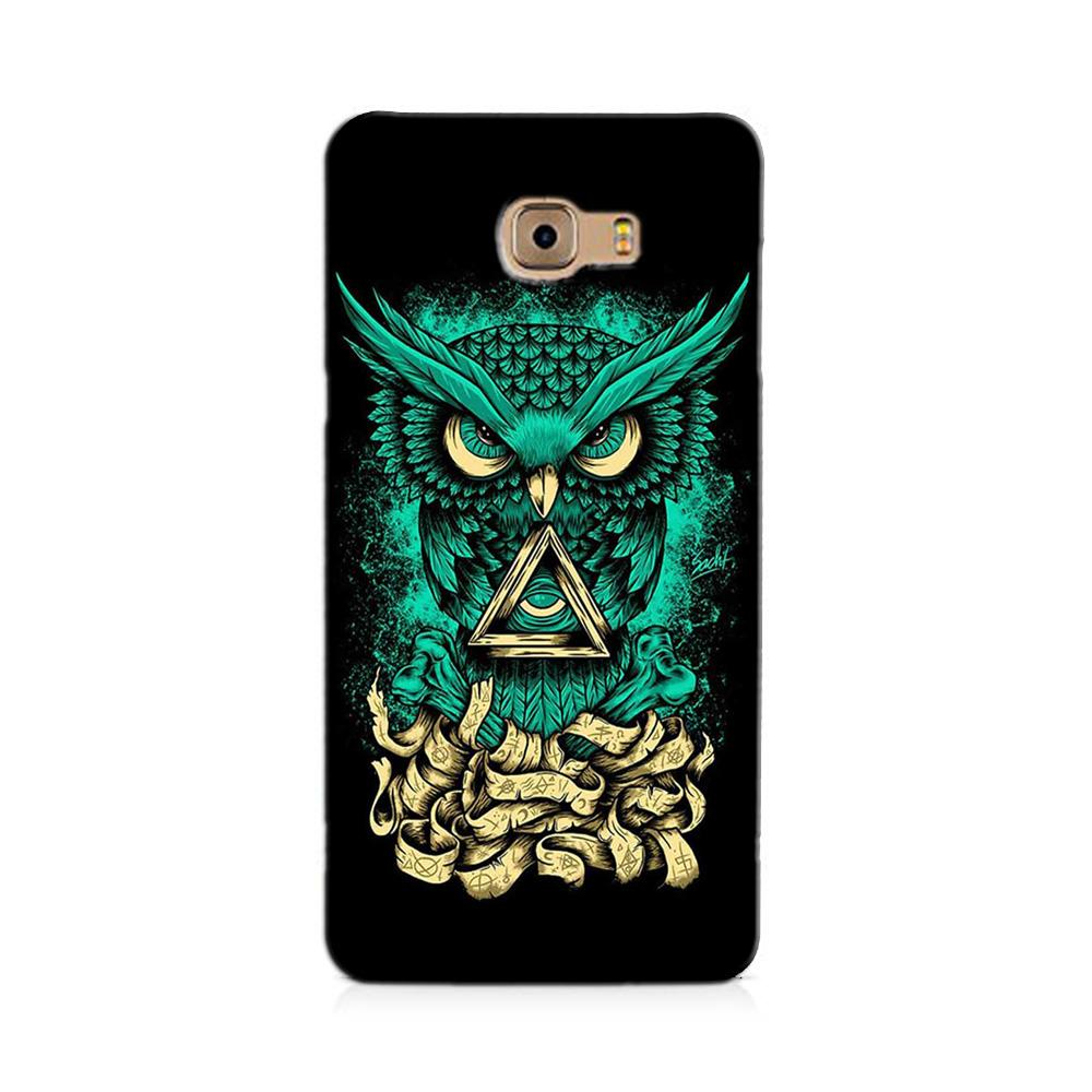 Owl Mobile Back Case for Galaxy J7 Prime   (Design - 358)