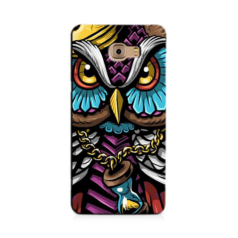 Owl Mobile Back Case for Galaxy J7 Prime   (Design - 359)