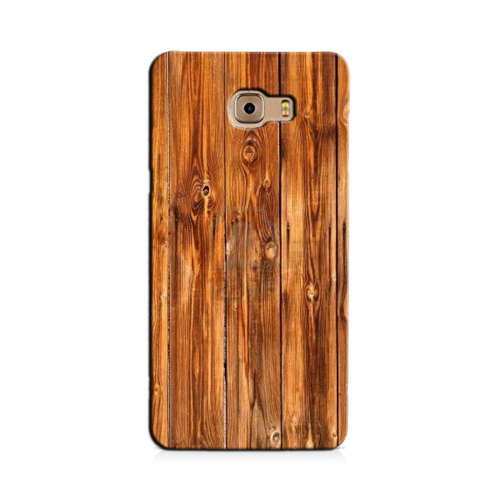 Wooden Texture Mobile Back Case for Galaxy J7 Prime   (Design - 376)