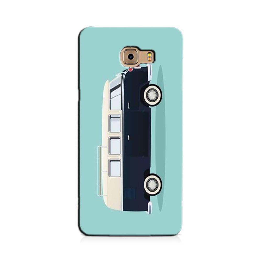 Travel Bus Mobile Back Case for Galaxy J7 Prime   (Design - 379)