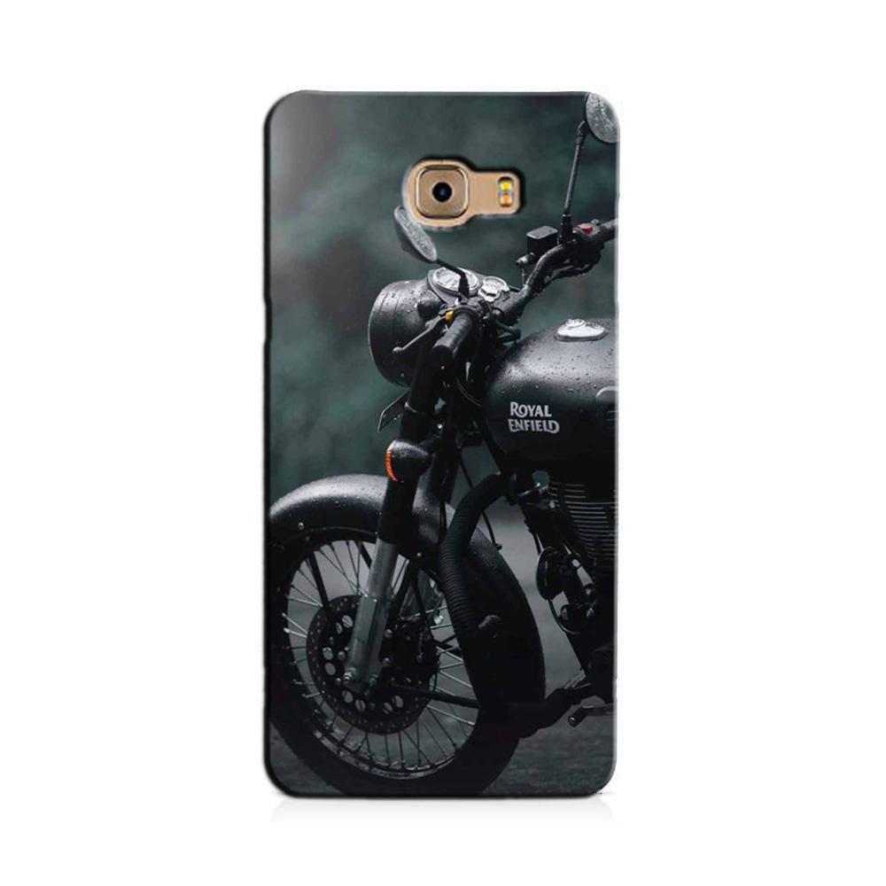 Royal Enfield Mobile Back Case for Galaxy J7 Prime   (Design - 380)
