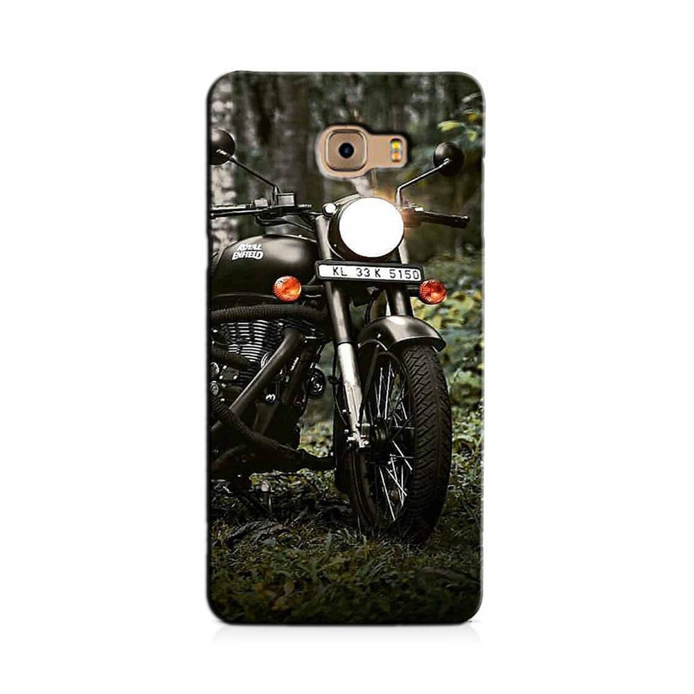 Royal Enfield Mobile Back Case for Galaxy J7 Prime   (Design - 384)