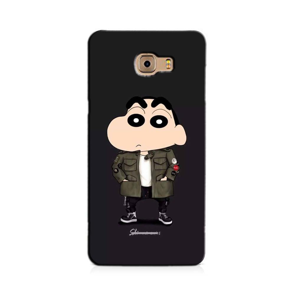 Shin Chan Mobile Back Case for Galaxy J7 Prime   (Design - 391)