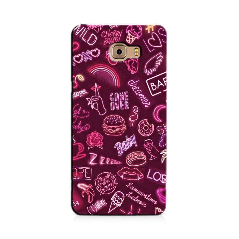 Party Theme Mobile Back Case for Galaxy J7 Prime   (Design - 392)