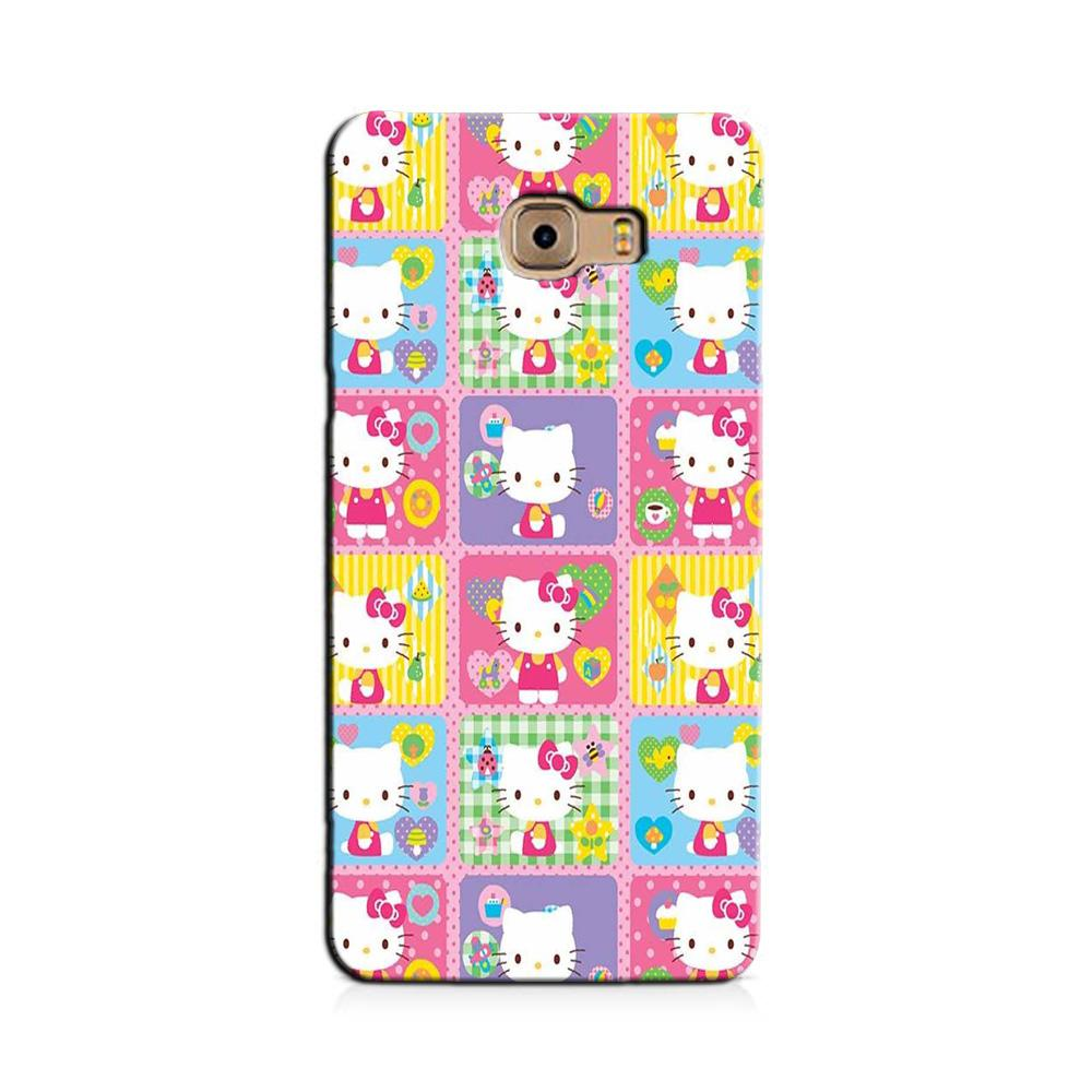 Kitty Mobile Back Case for Galaxy J7 Prime   (Design - 400)