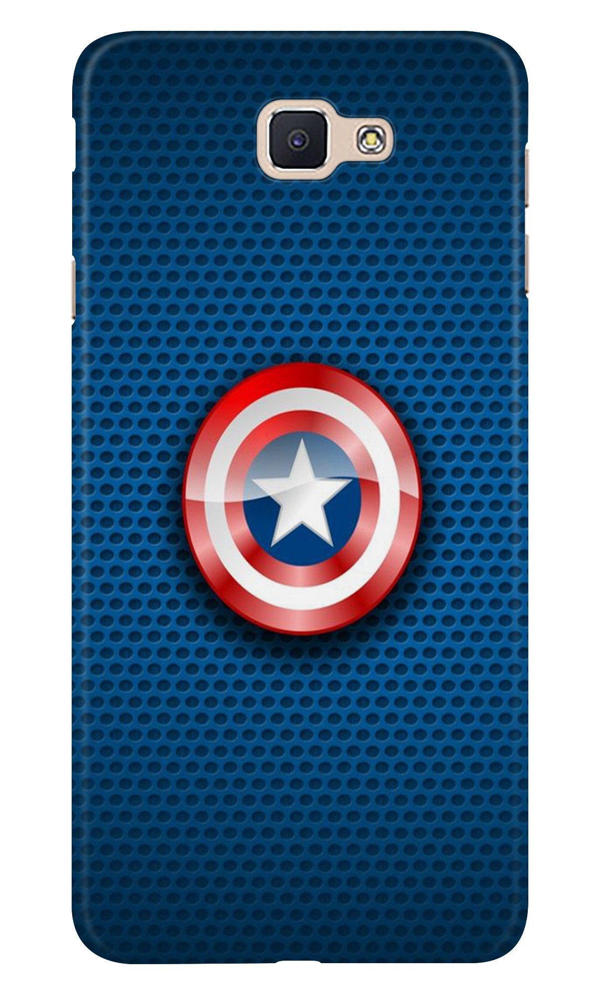 Captain America Shield Case for Samsung Galaxy C7 Pro (Design No. 253)
