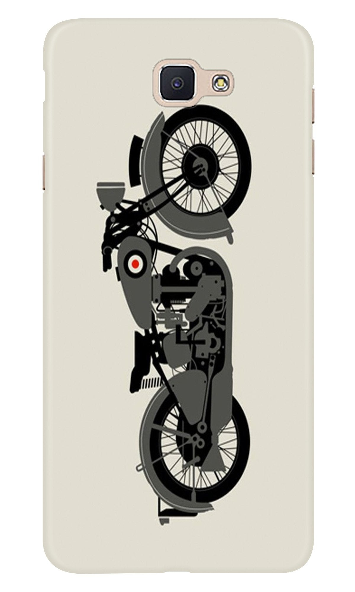 MotorCycle Case for Samsung Galaxy A9 Pro (Design No. 259)