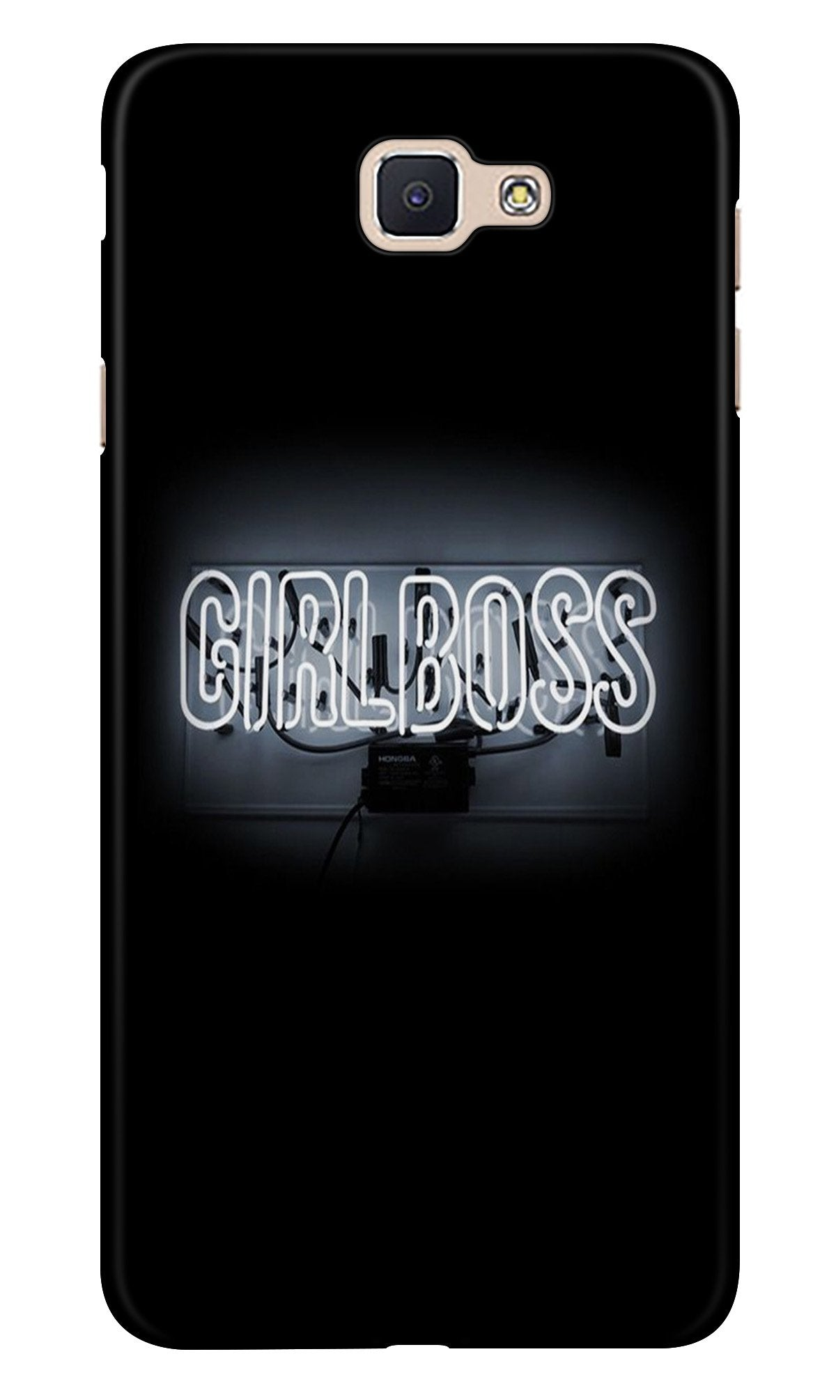 Girl Boss Black Case for Samsung Galaxy A9 Pro (Design No. 268)