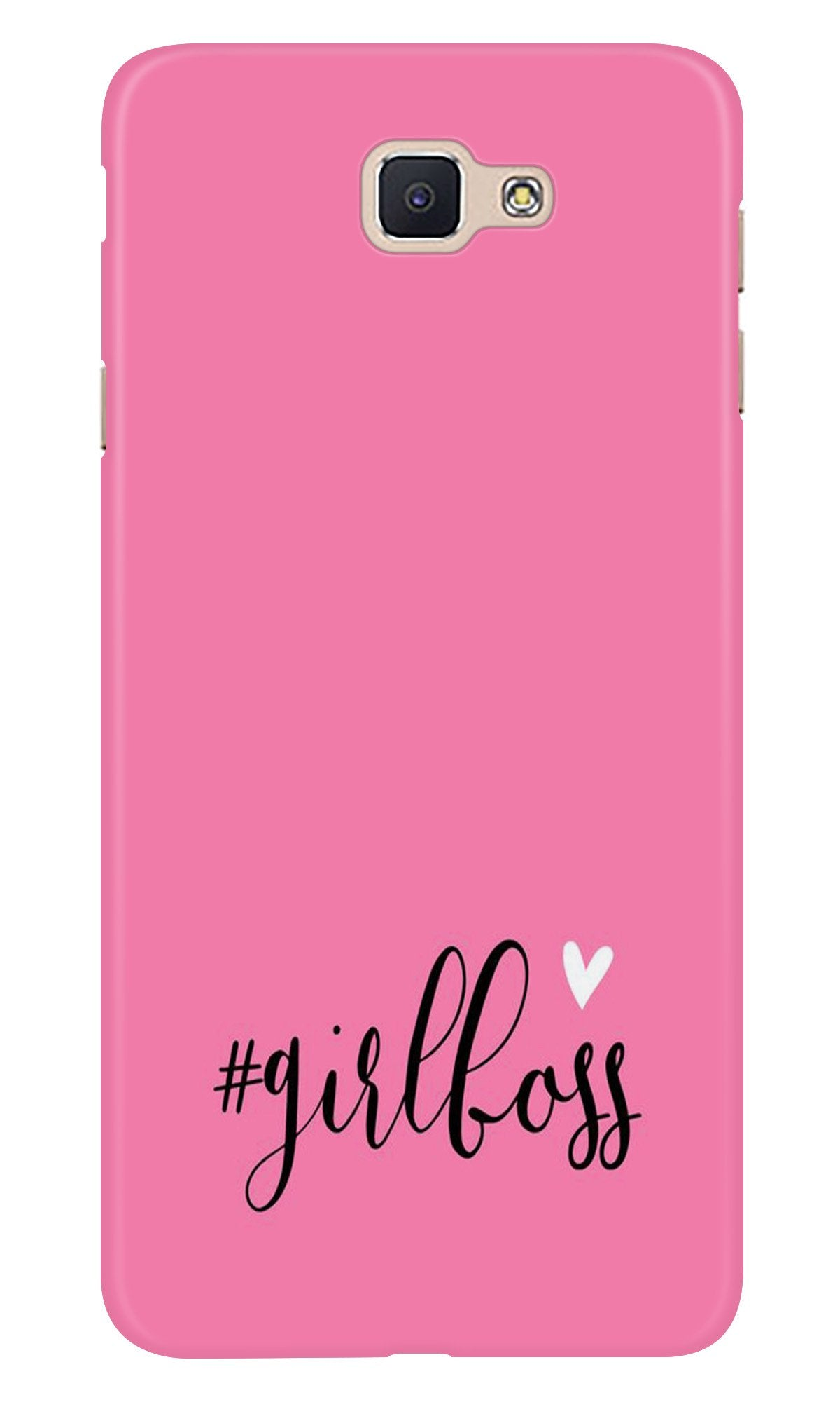 Girl Boss Pink Case for Samsung Galaxy J5 Prime (Design No. 269)