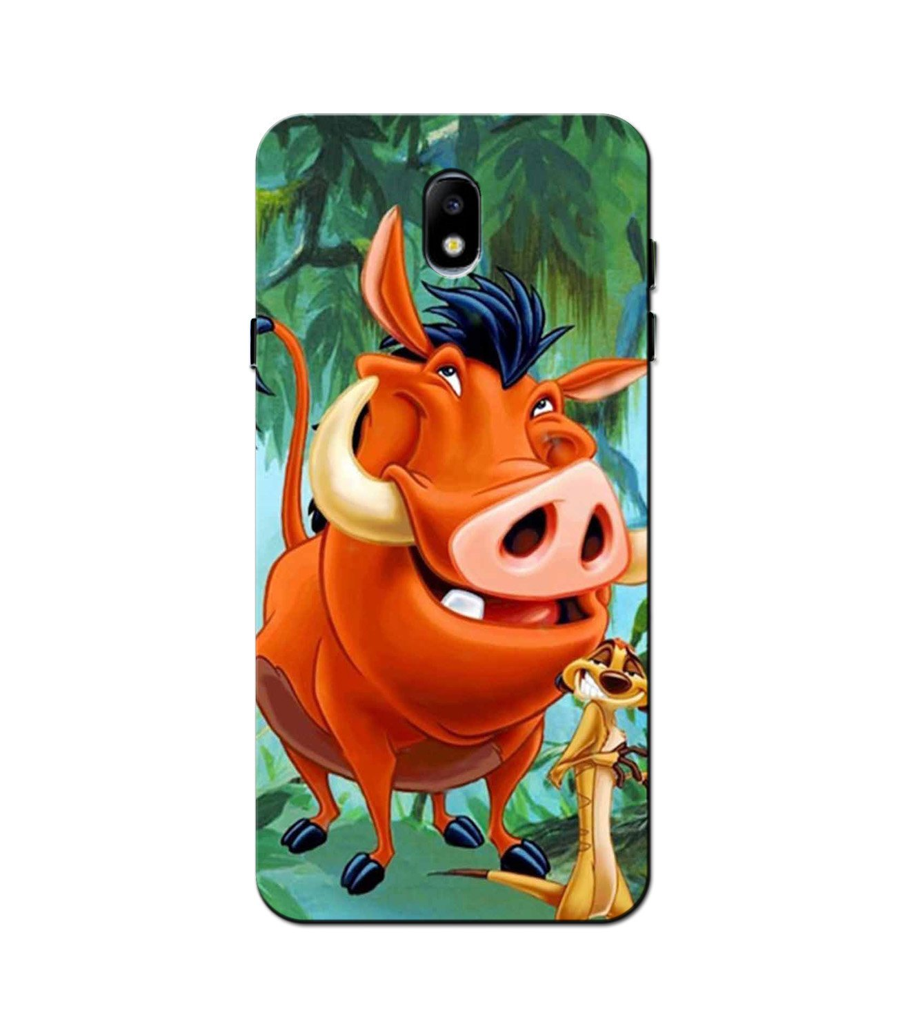 Timon and Pumbaa Mobile Back Case for Galaxy J3 Pro  (Design - 305)