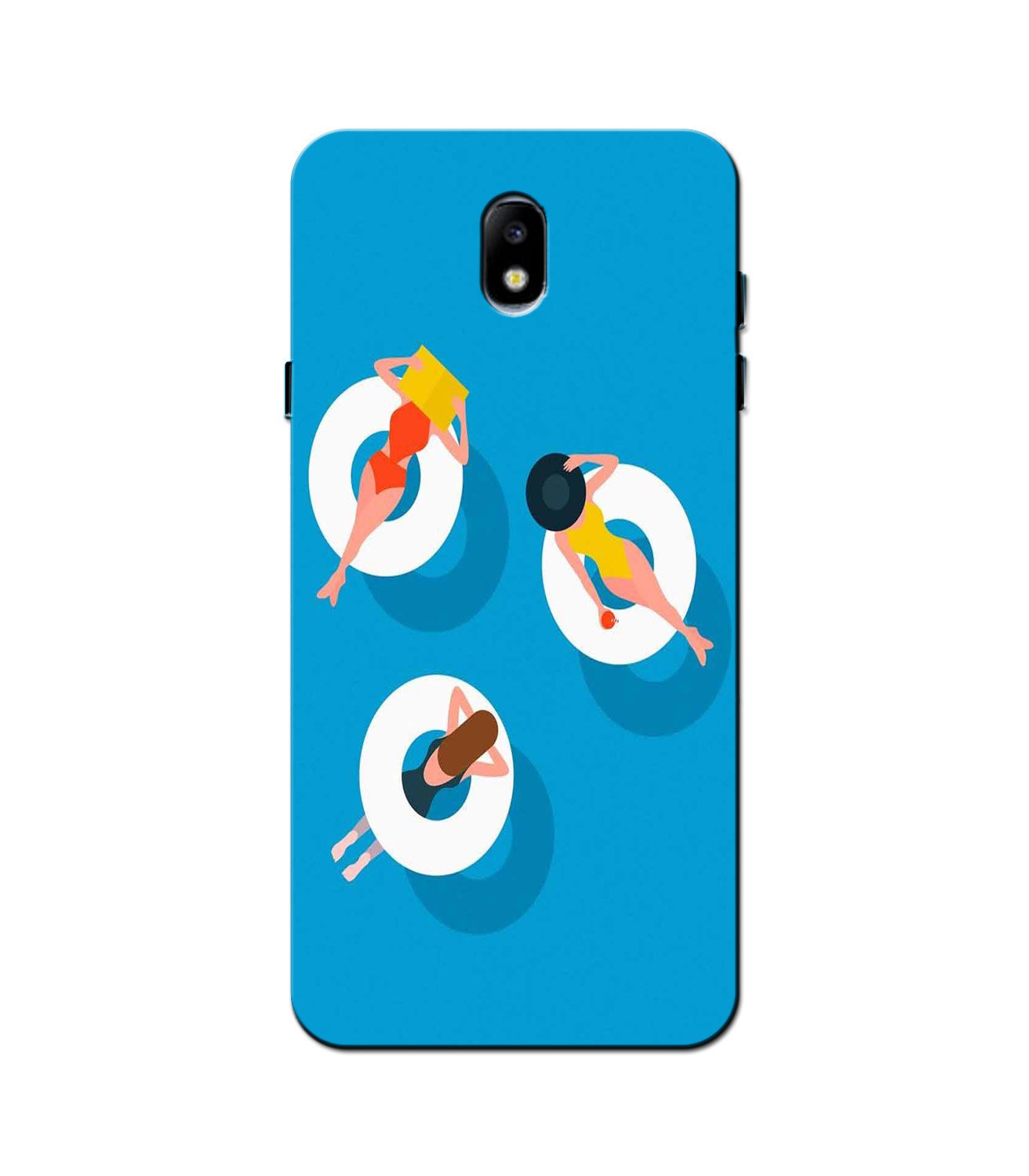 Girlish Mobile Back Case for Galaxy J5 Pro  (Design - 306)