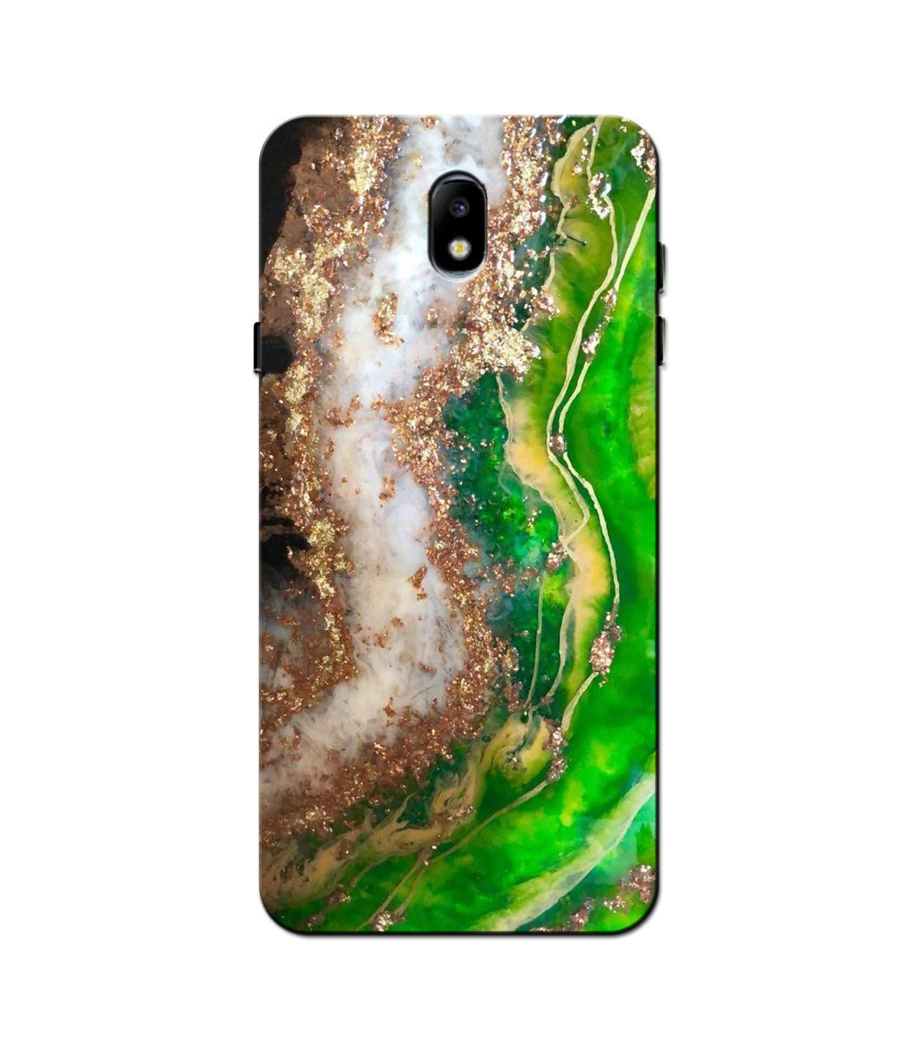 Marble Texture Mobile Back Case for Galaxy J5 Pro  (Design - 307)
