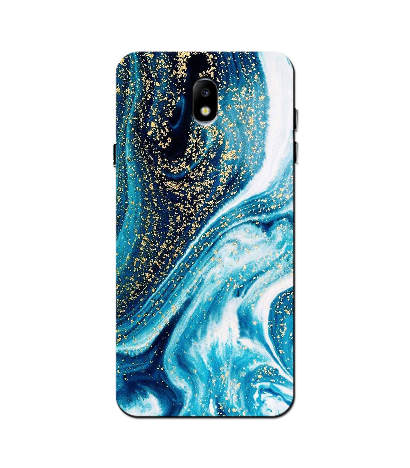Marble Texture Mobile Back Case for Galaxy J5 Pro  (Design - 308)