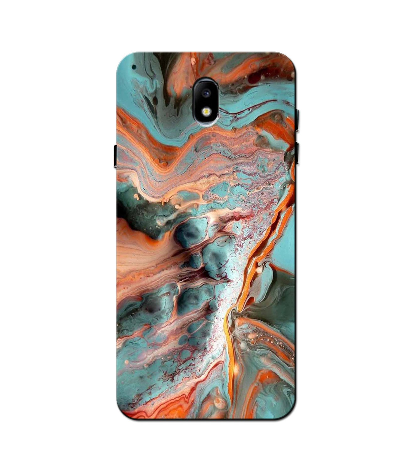 Marble Texture Mobile Back Case for Galaxy J3 Pro  (Design - 309)