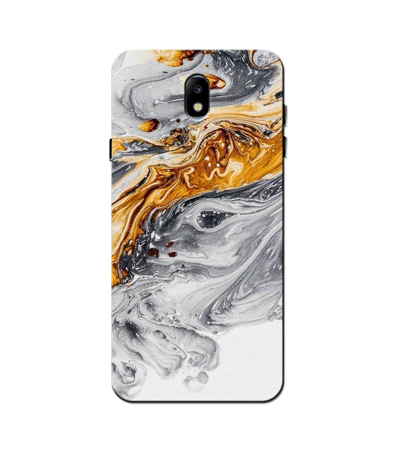 Marble Texture Mobile Back Case for Galaxy J5 Pro  (Design - 310)