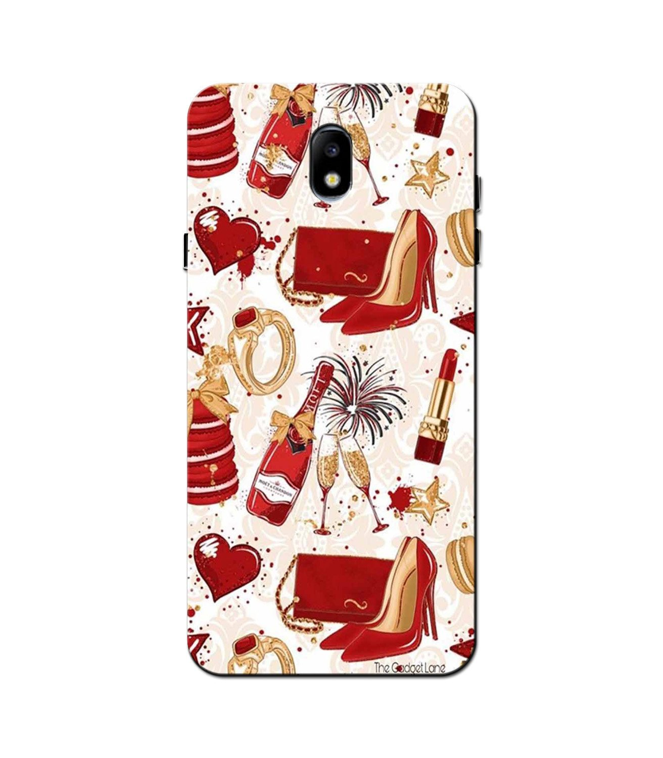 Girlish Mobile Back Case for Galaxy J5 Pro  (Design - 312)