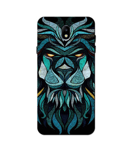Lion Mobile Back Case for Galaxy J7 Pro   (Design - 314)
