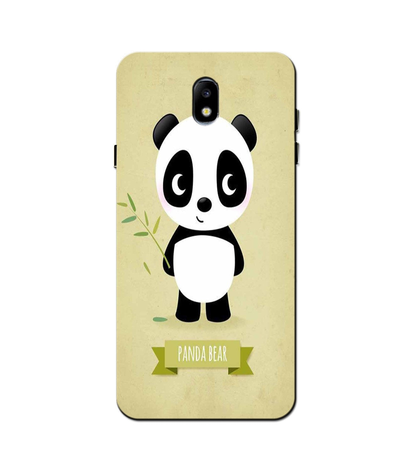 Panda Bear Mobile Back Case for Galaxy J5 Pro  (Design - 317)