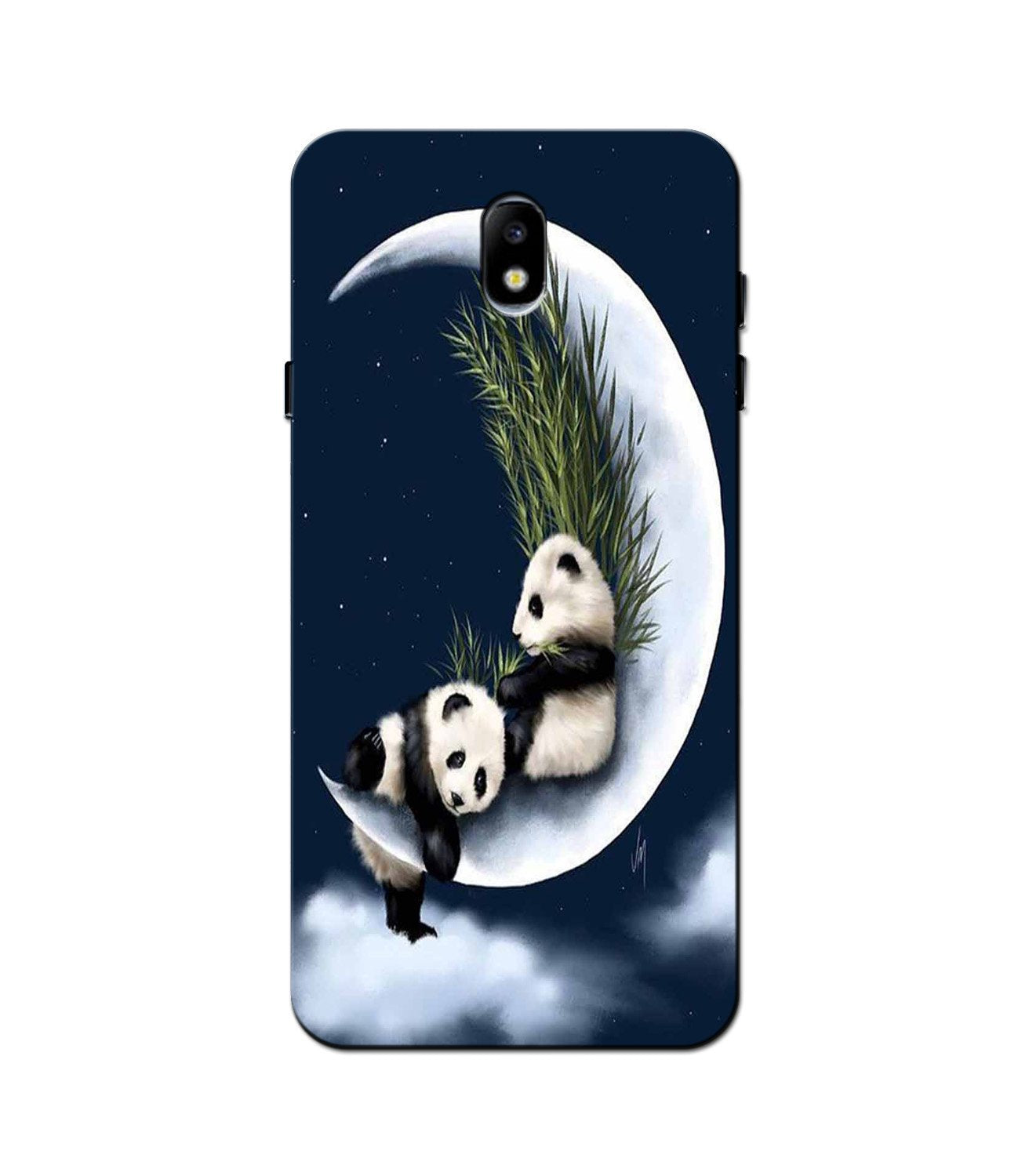 Panda Moon Mobile Back Case for Galaxy J3 Pro  (Design - 318)