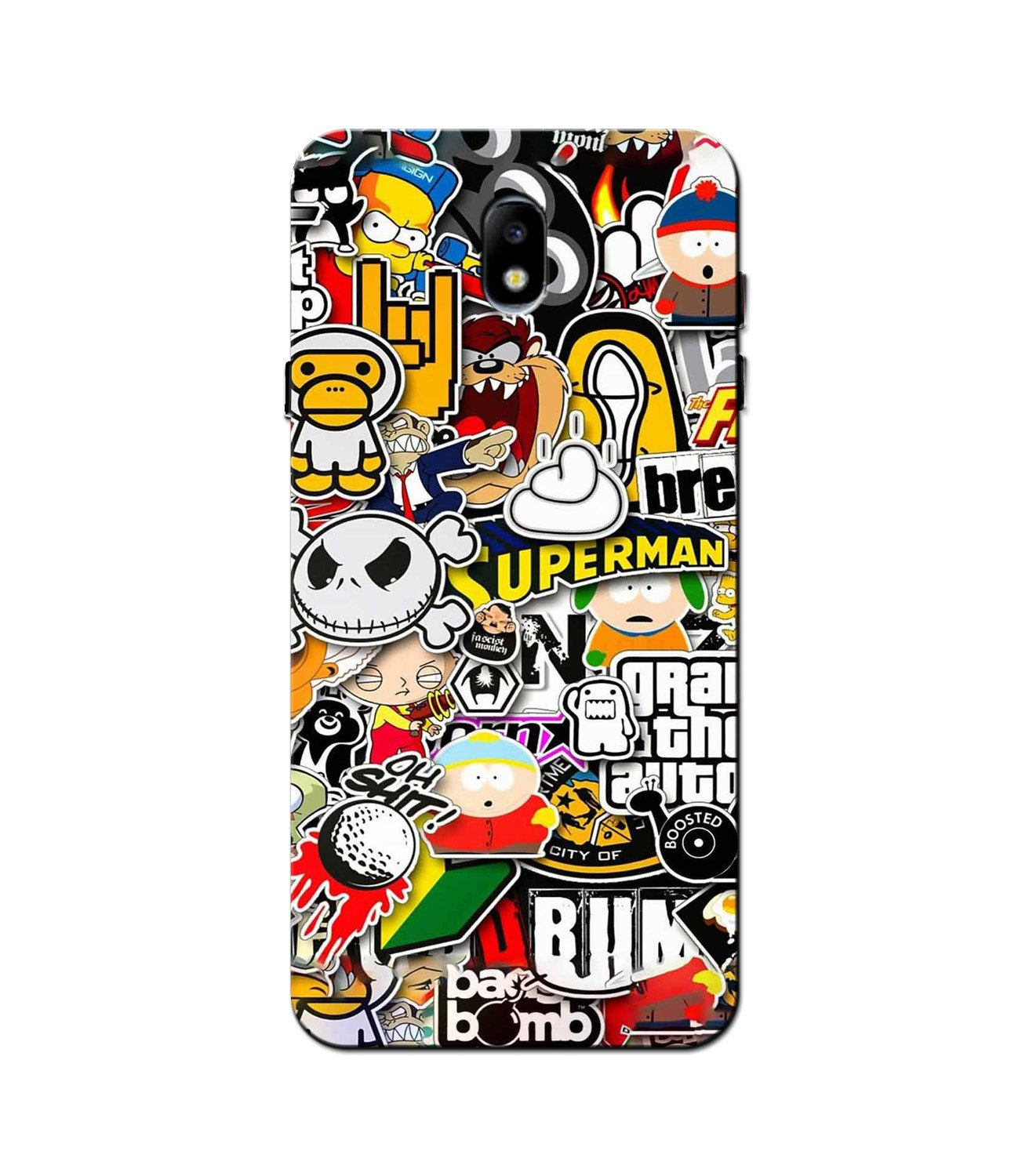 Designer Mobile Back Case for Galaxy J5 Pro  (Design - 320)