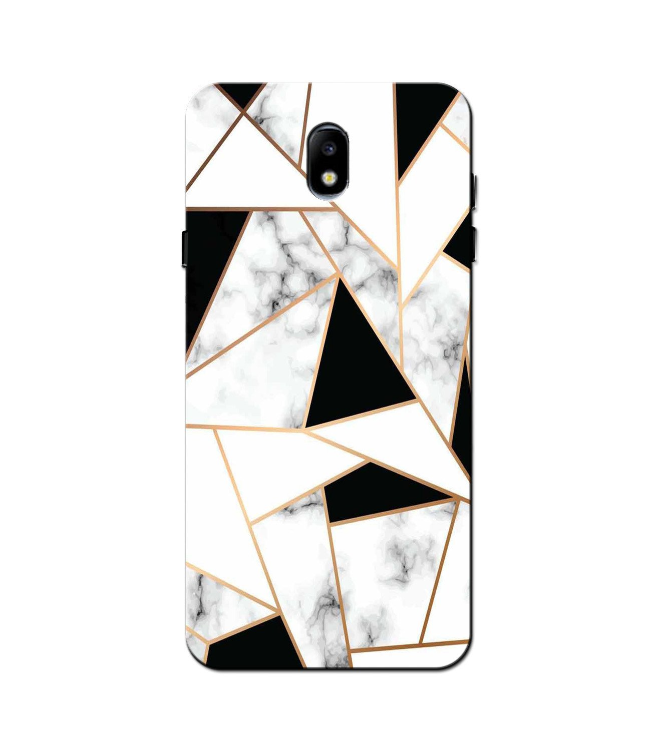 Marble Texture Mobile Back Case for Galaxy J7 Pro   (Design - 322)