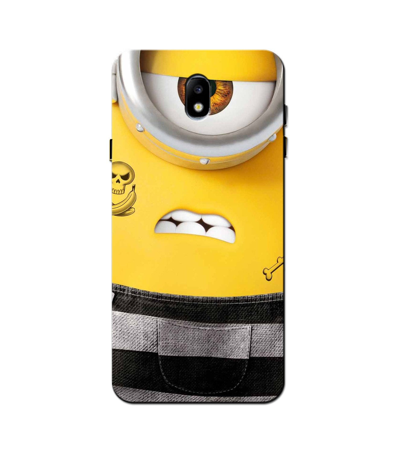 Minion Mobile Back Case for Galaxy J5 Pro  (Design - 324)