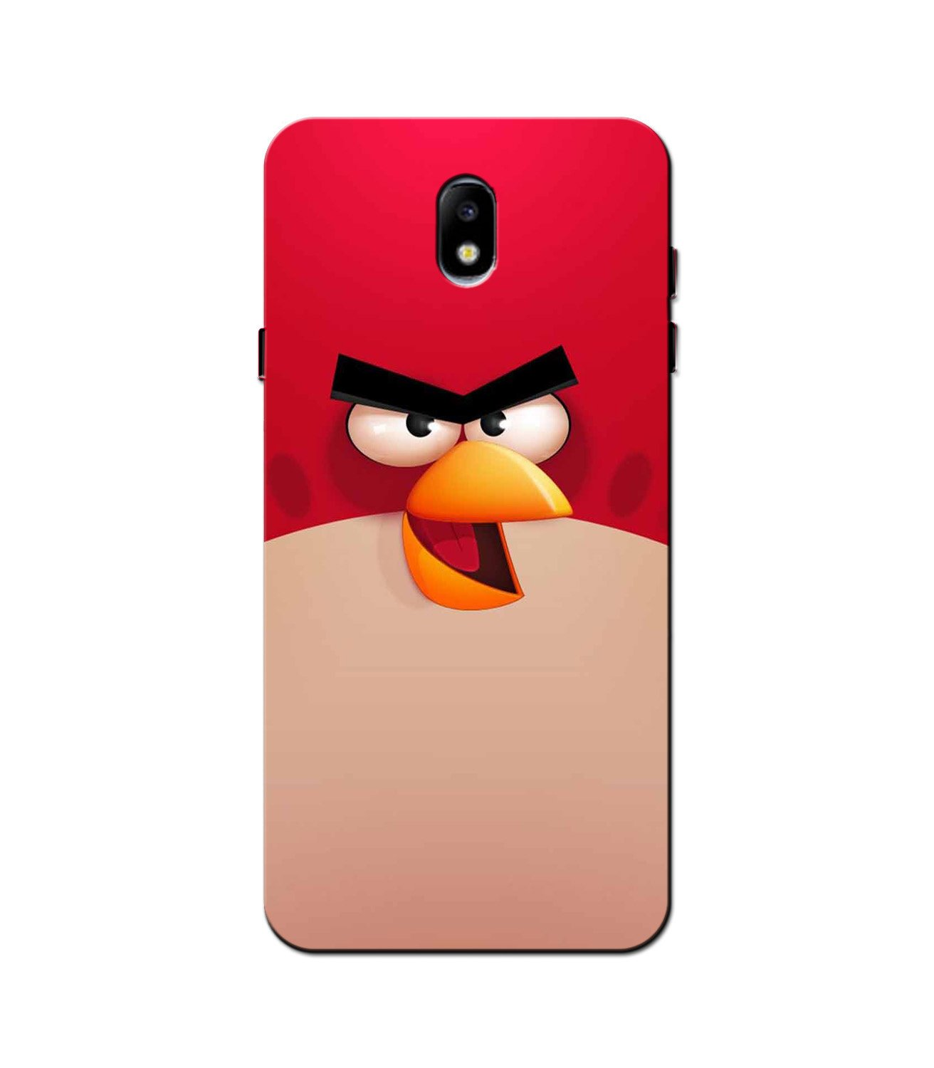 Angry Bird Red Mobile Back Case for Galaxy J3 Pro  (Design - 325)