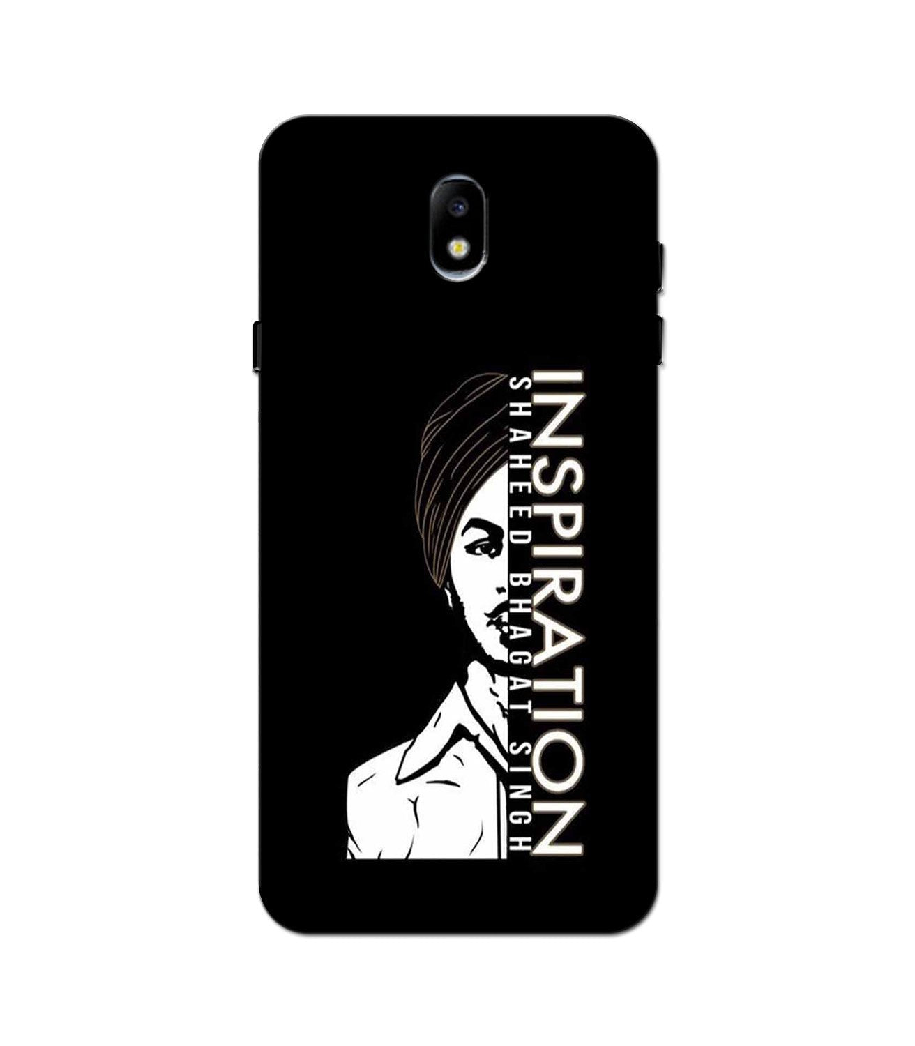 Bhagat Singh Mobile Back Case for Galaxy J3 Pro  (Design - 329)