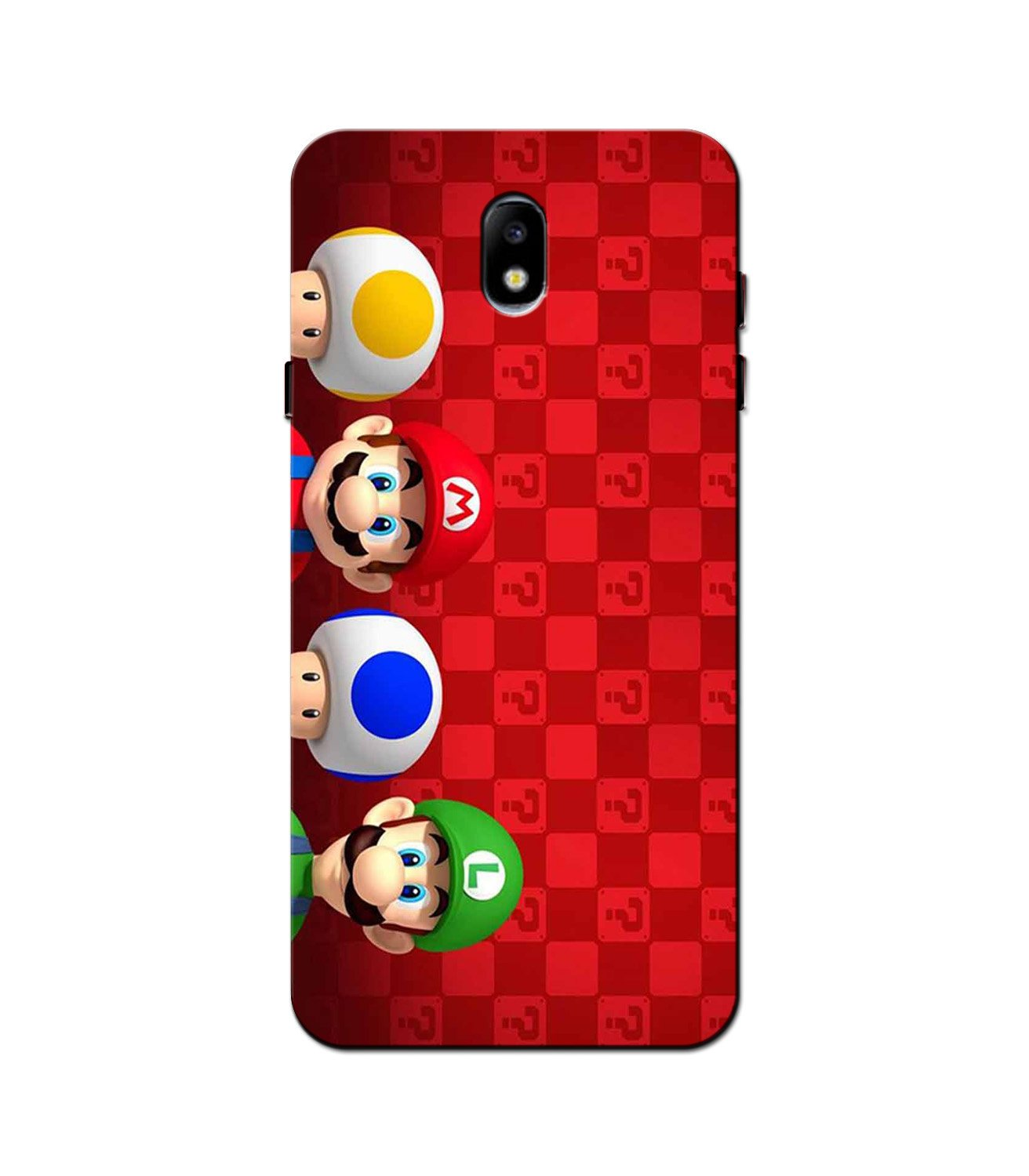 Mario Mobile Back Case for Galaxy J5 Pro  (Design - 337)