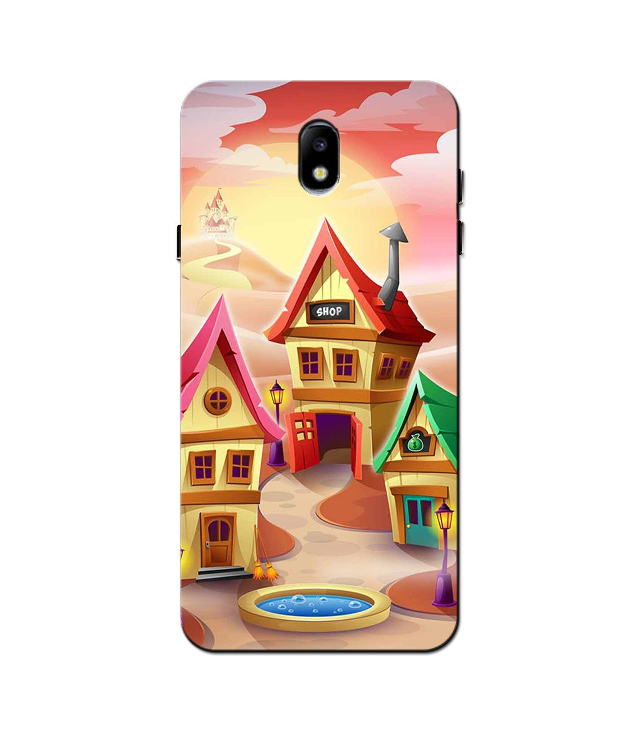 Sweet Home Mobile Back Case for Galaxy J3 Pro  (Design - 338)