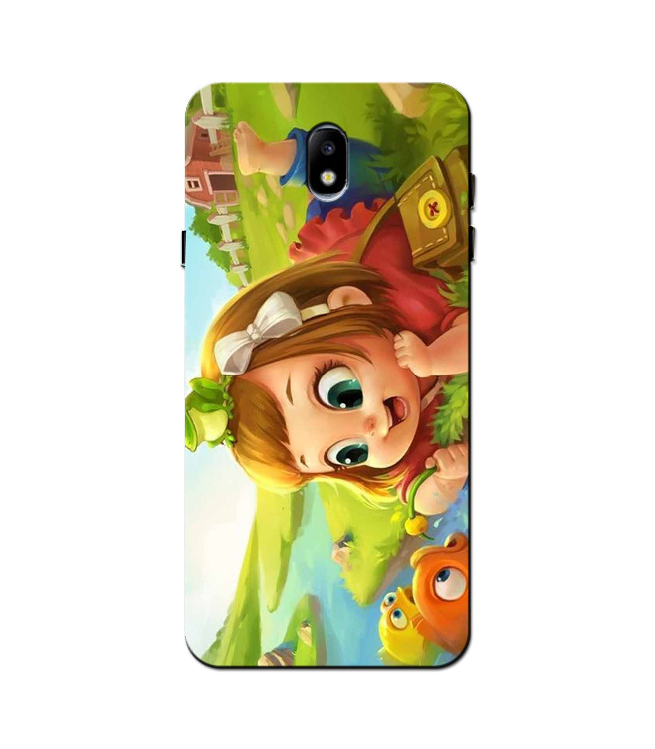 Baby Girl Mobile Back Case for Galaxy J5 Pro  (Design - 339)