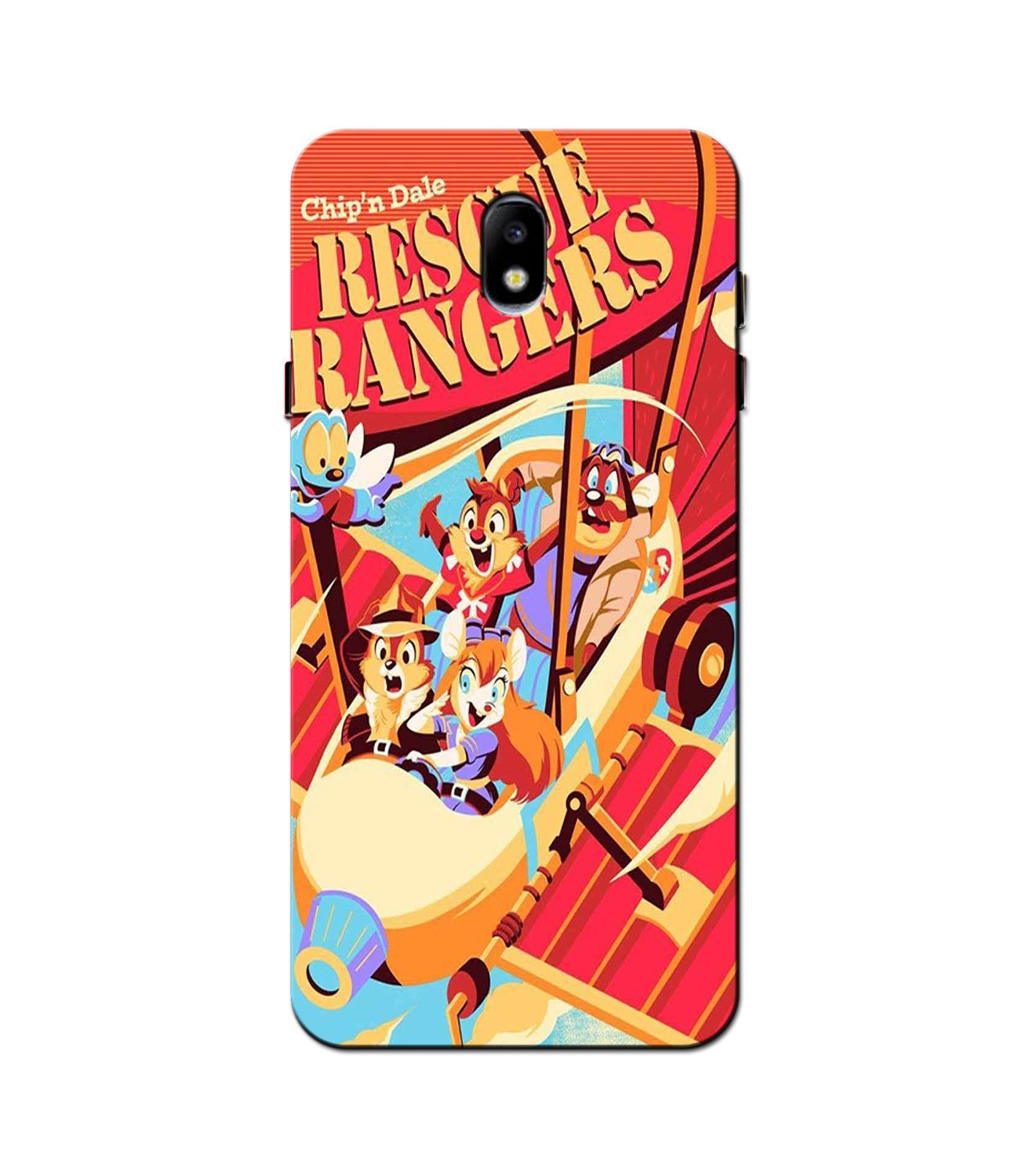 Rescue Rangers Mobile Back Case for Galaxy J3 Pro  (Design - 341)