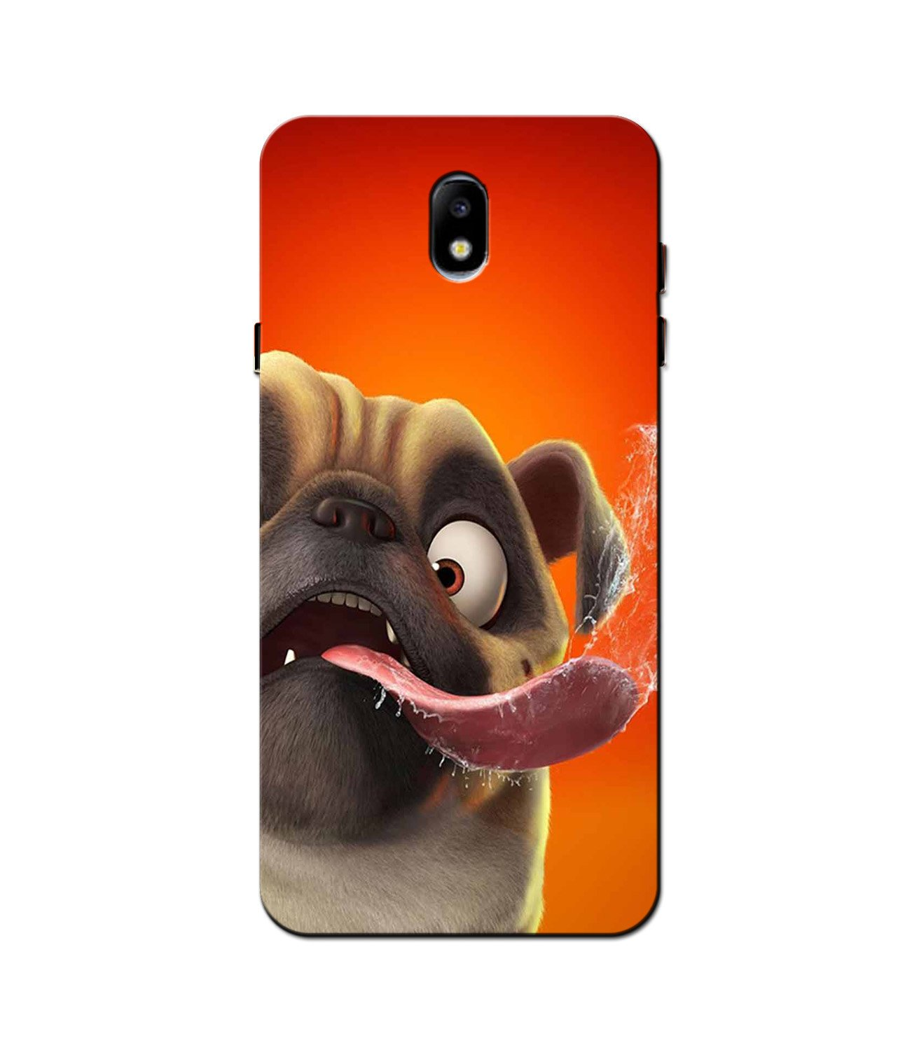 Dog Mobile Back Case for Galaxy J5 Pro  (Design - 343)