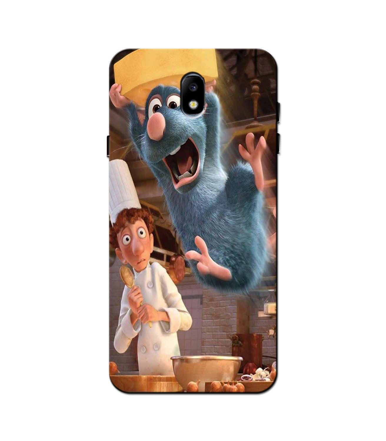 Ratatouille Mobile Back Case for Galaxy J5 Pro  (Design - 347)