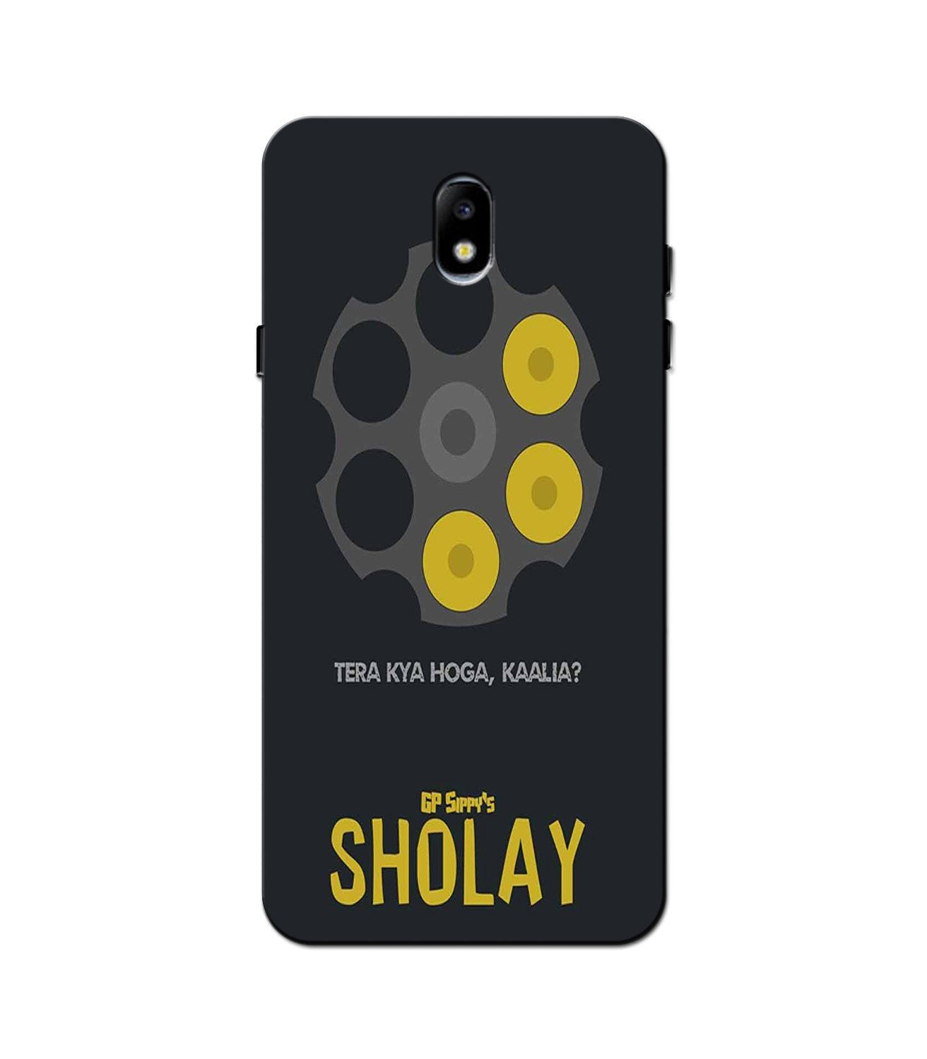 Sholay Mobile Back Case for Galaxy J3 Pro  (Design - 356)