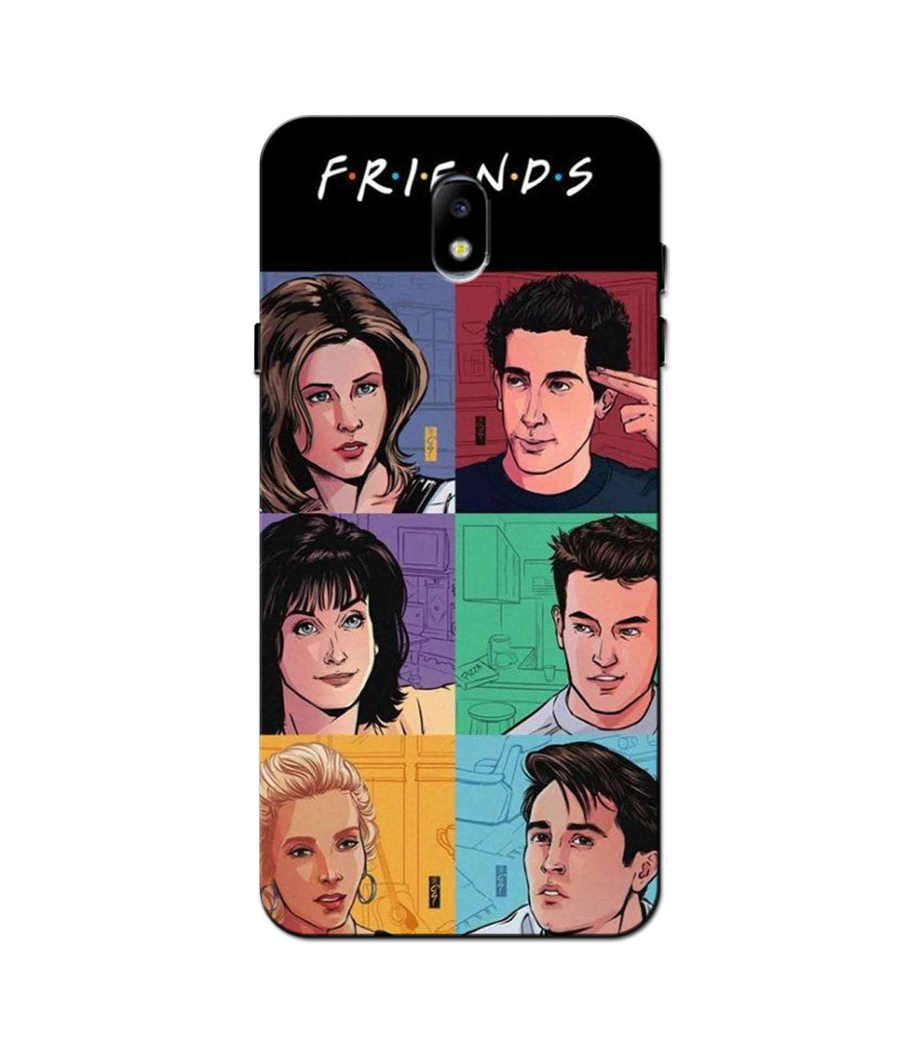 Friends Mobile Back Case for Galaxy J5 Pro  (Design - 357)